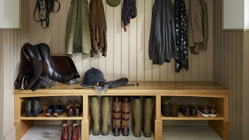 boot room to keep wellies and coats