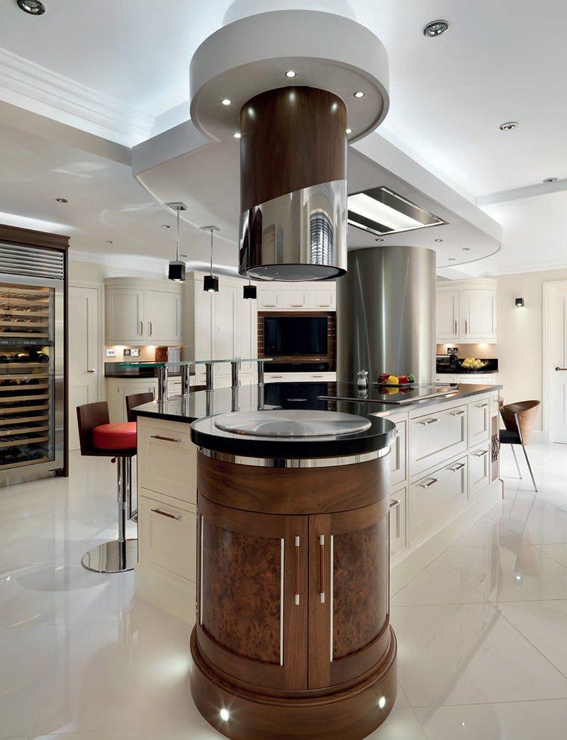 davonport kitchen with luxury island