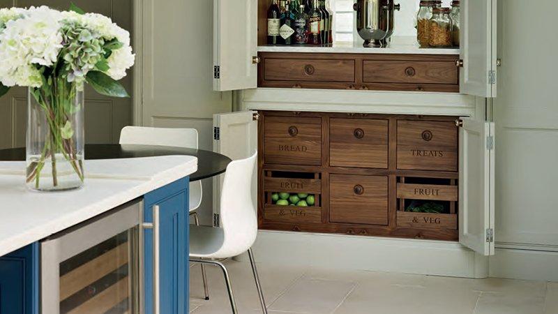 kitchen pantry to store fresh food