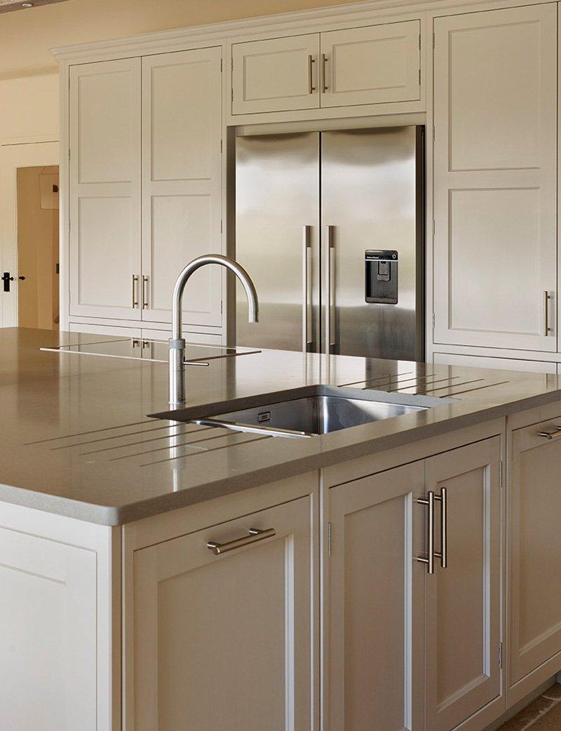 kitchen sink large island