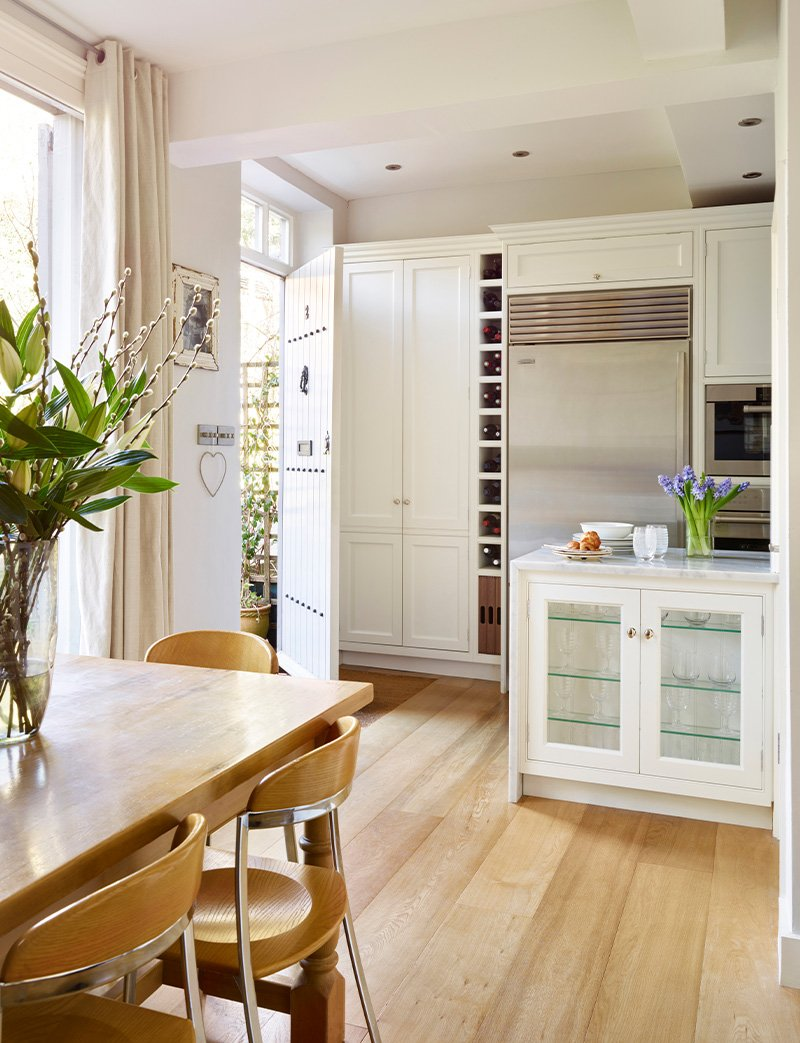 kitchen with middlewood furniture
