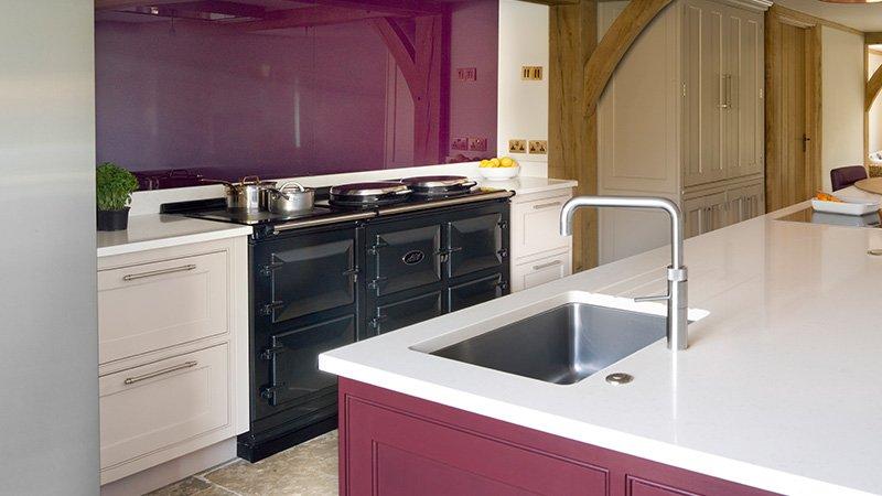 large kitchen cooker