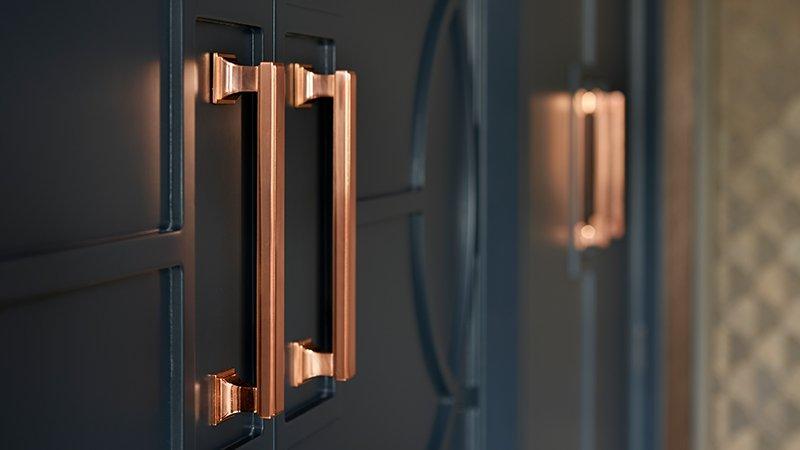 luxury finish to storage cupboards