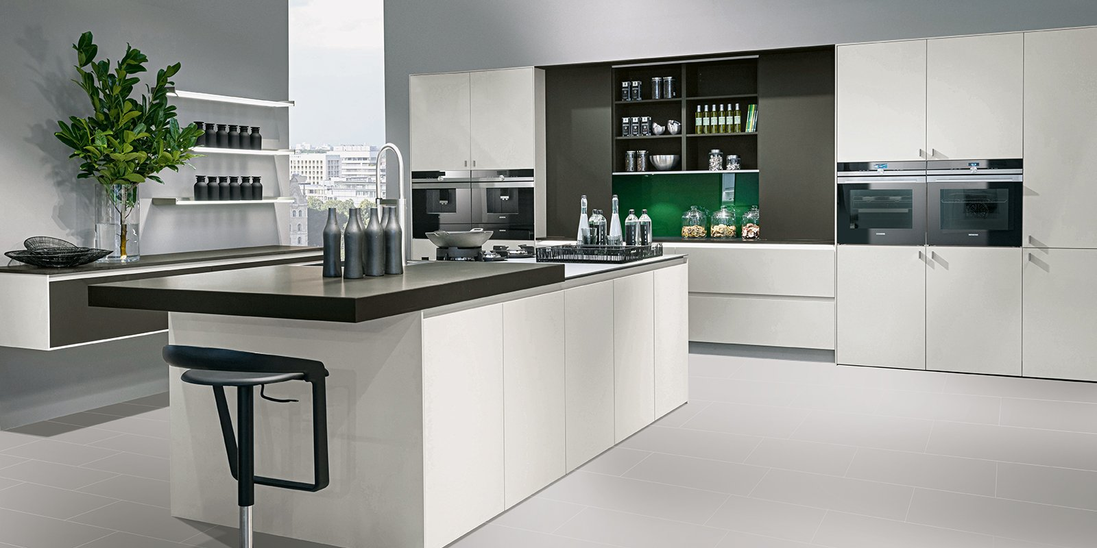 modern pronorm kitchen with island