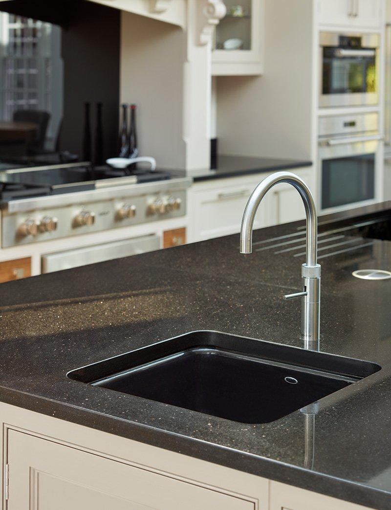 sink with granite worktop