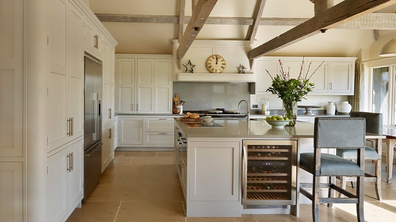 davonport kitchen painted in a light finish