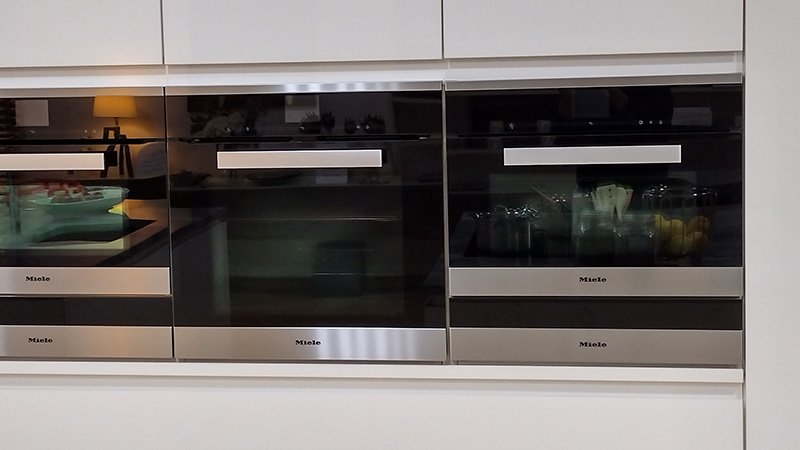 exdisplay pronorm kitchen with miele appliances