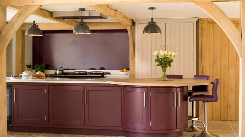 new kitchen using fallow and ball paint in pelt