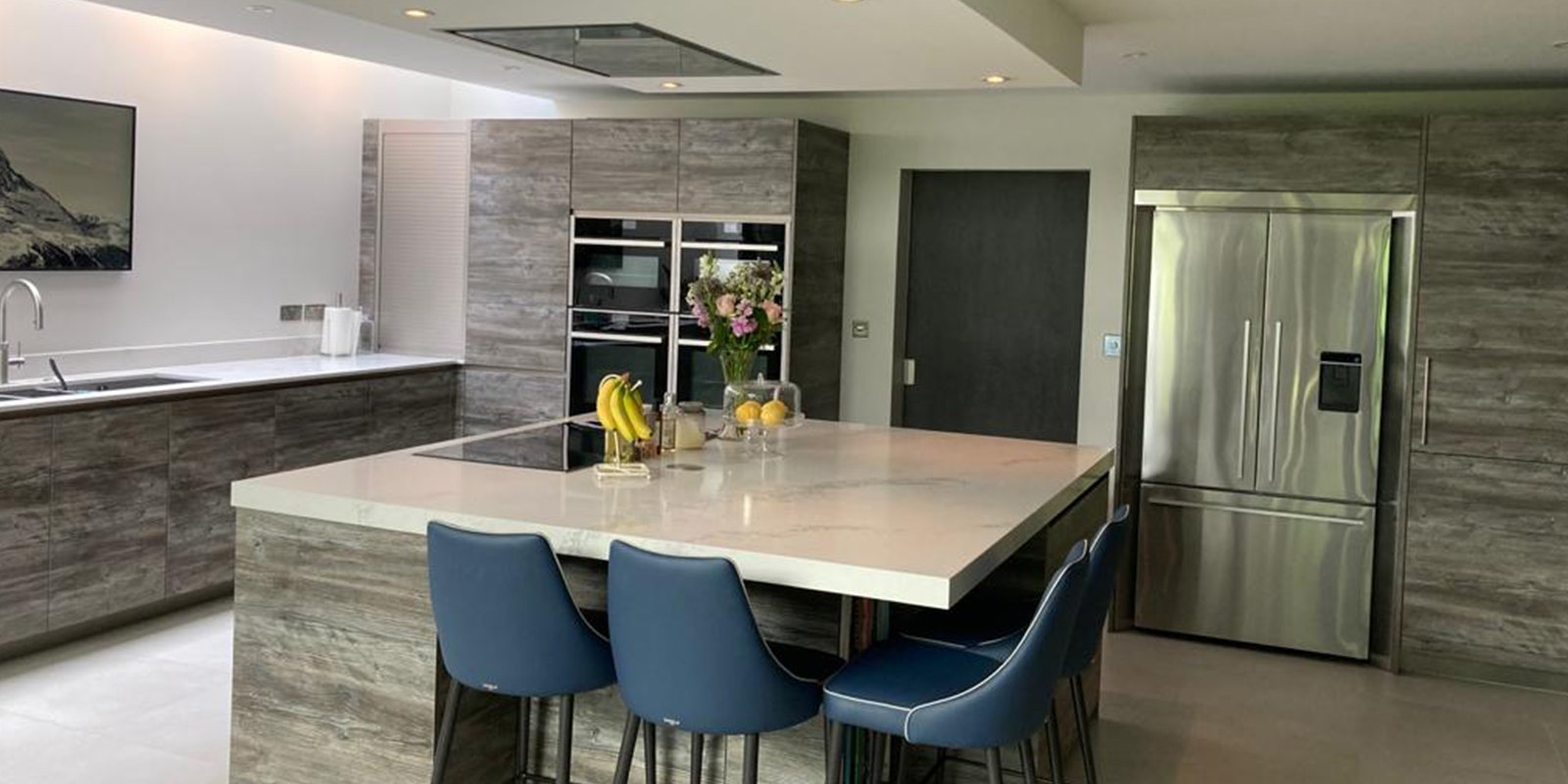 rational kitchen with large island